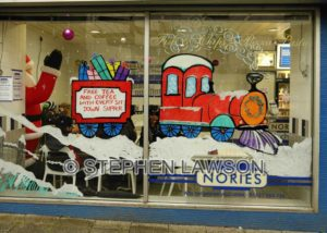 Festive Window Display