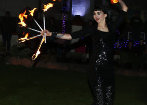 Fire Art Performers