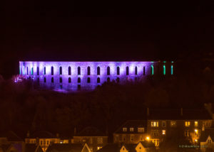 McCaig's Tower Purple