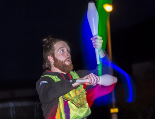 Performer Juggling