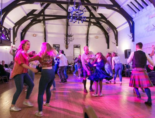 Festive Dance In Full Swing