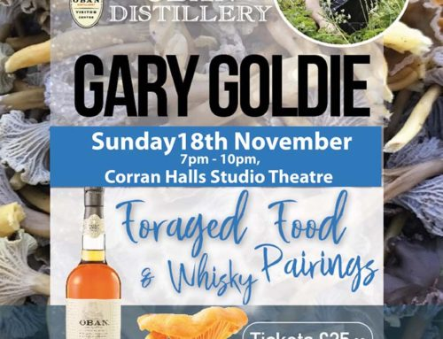 Gary Goldie Foraged Food & Whisky Pairings
