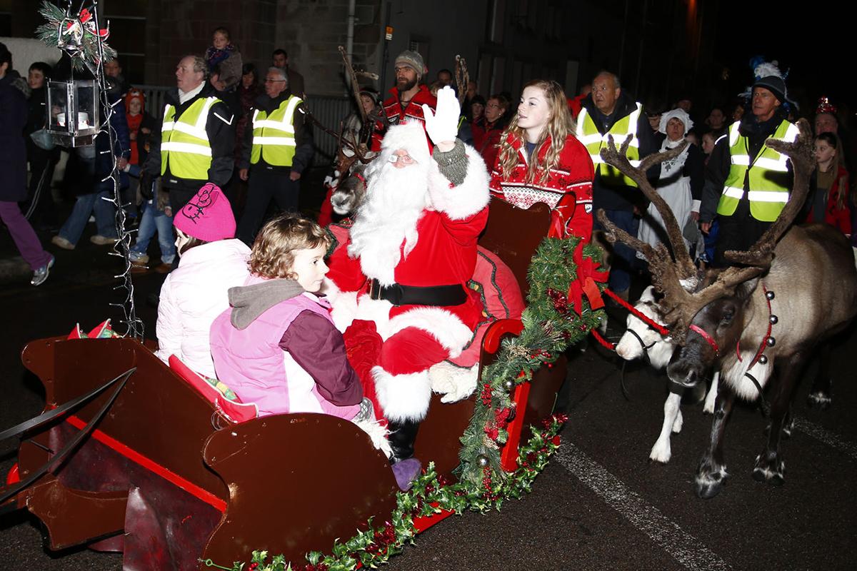 Santa Claus Oban Winter festival