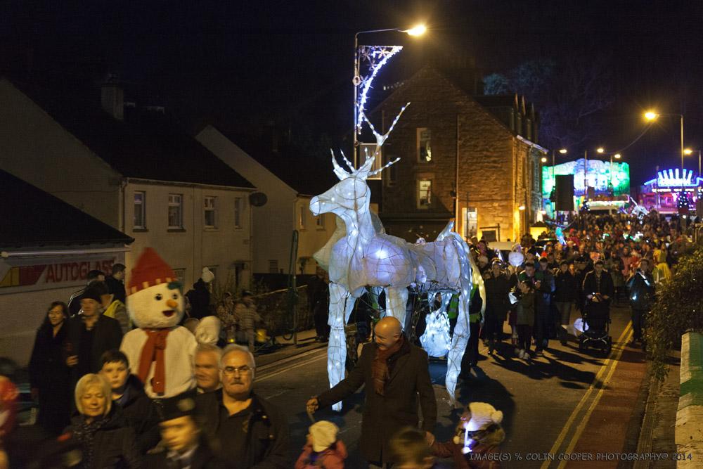 Parade Through Town
