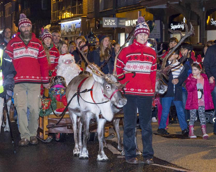 Reindeer Parade